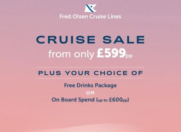 CRUISE SALE from £599pp